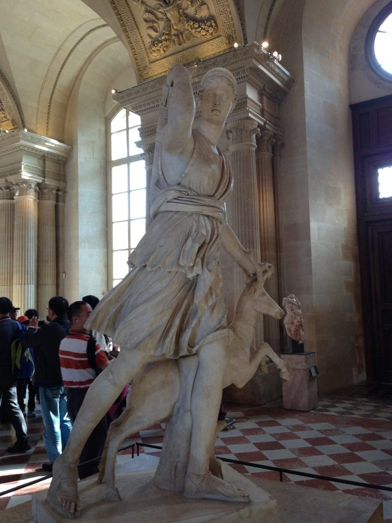Artemis in the Louvre